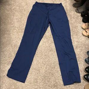 Grey's Anatomy navy blue scrub pants XS petite